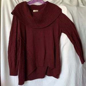 Style & Co Maroon Sweater